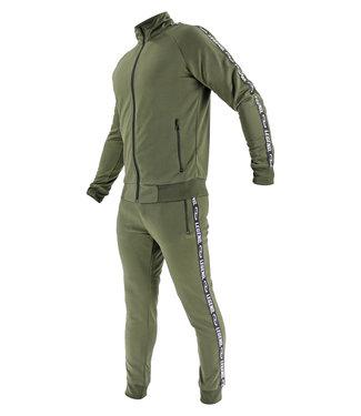 Legend Sports Legend B-keuzeTrainingspak Unisex SlimFit Army Green
