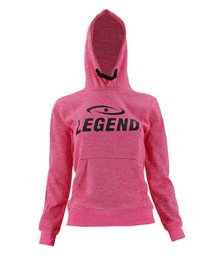 Legend Sports Hoodie dames/heren trendy Legend design Roze