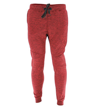 Legend Sports Joggingbroek dames/heren Rood Slimfit Legend Special