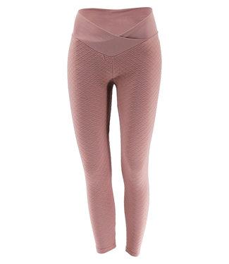 Legend Sports Sport Legging Embossed Pink