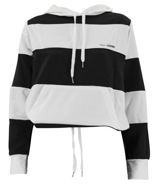 Legend Sports Dames Joggingpak met witte strepen Dry-Fit Zwart