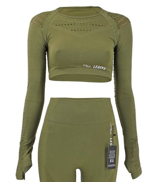 Sport Top Army Green