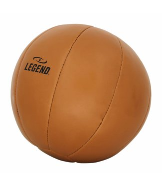 Legend Medicine Ball Retro Bruin Diverse Gewichten Ball Leder 3kg Legend