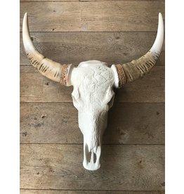 Damn Skull gegraveerd indiaan B 68 x 80 cm