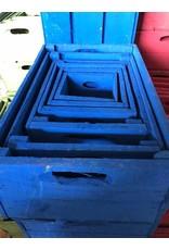 Damn Kist kobaltblauw 15 x 15