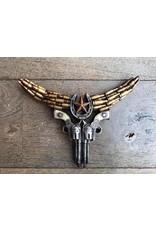 Damn Small skull guns
