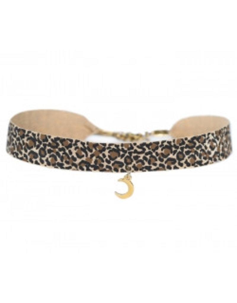 Love Ibiza Choker Leopard