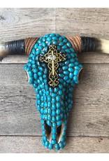 Damn Skull stenen turquoise