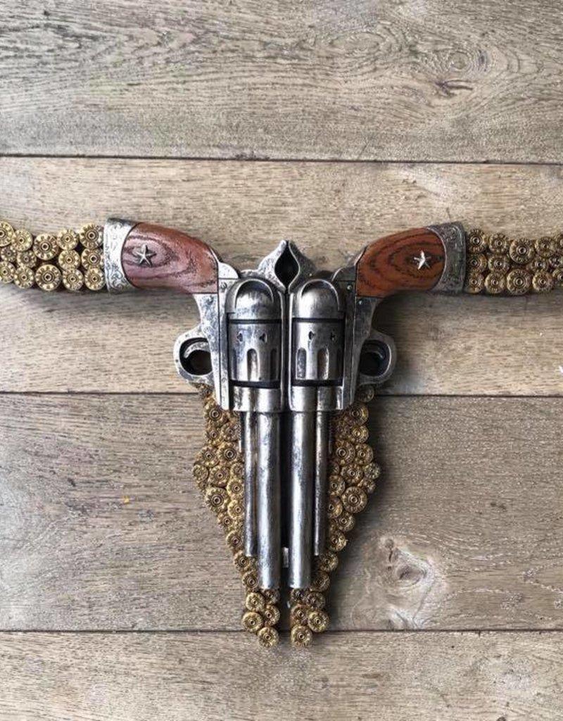Damn Skull pistolen plat