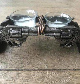 Damn waxinehouder revolvers