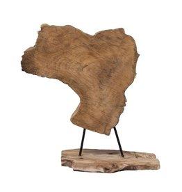 Damn Coarse piece of wood - standing