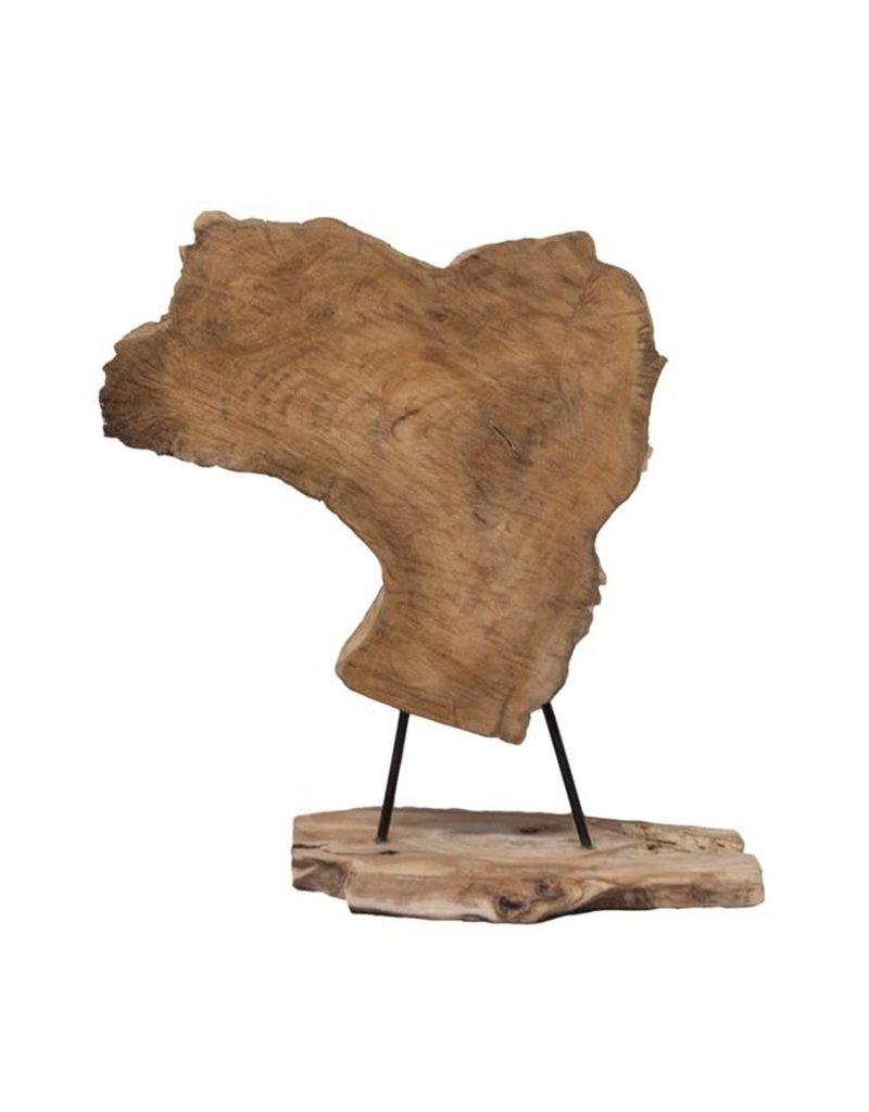 Damn Grof stuk hout - staand