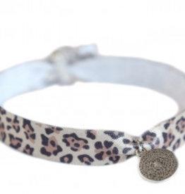 Love Ibiza Enkelbandje leopard munt
