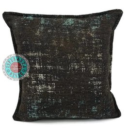 esperanza-deseo Throw pillow industrial petrol - Copy - Copy - Copy