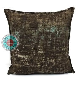 esperanza-deseo Throw pillow industrial brown 40 x 40