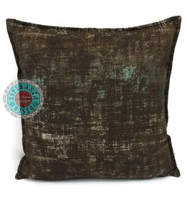 esperanza-deseo Throw pillow industrial brown 40 x 40 - Copy - Copy