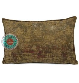 esperanza-deseo Throw pillow industrial ocher 40 x 40 - Copy