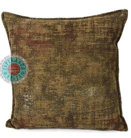 esperanza-deseo Throw pillow industrial ocher 40 x 40 - Copy - Copy