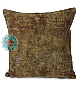 esperanza-deseo Throw pillow industrial ocher 40 x 40 - Copy - Copy