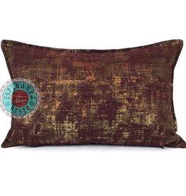 esperanza-deseo Throw pillow industrial burgundy 40 x 60