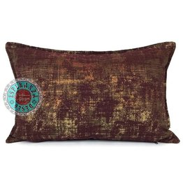 esperanza-deseo Throw pillow industrial burgundy 40 x 60
