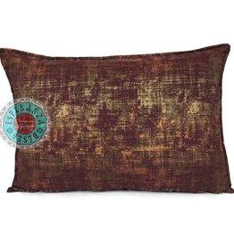 esperanza-deseo Throw pillow industrial burgundy 50 x 70