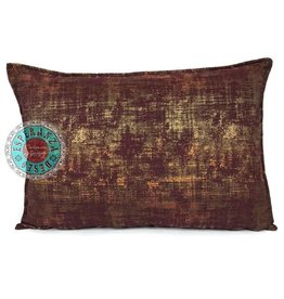 esperanza-deseo Throw pillow industrial burgundy 50 x 70