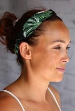 Love Ibiza  Haarband Palm wit