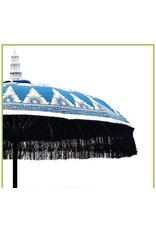 Damn parasol groot blauw