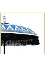 Damn parasol large blue