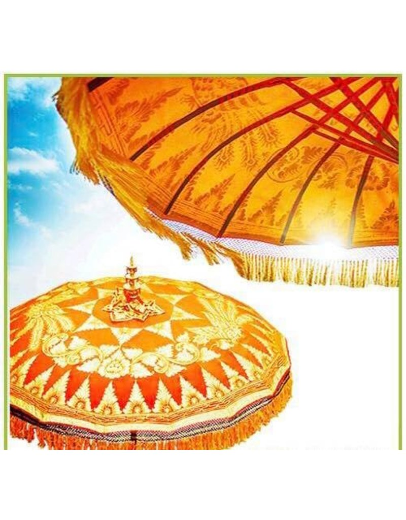 Damn parasol groot oranje