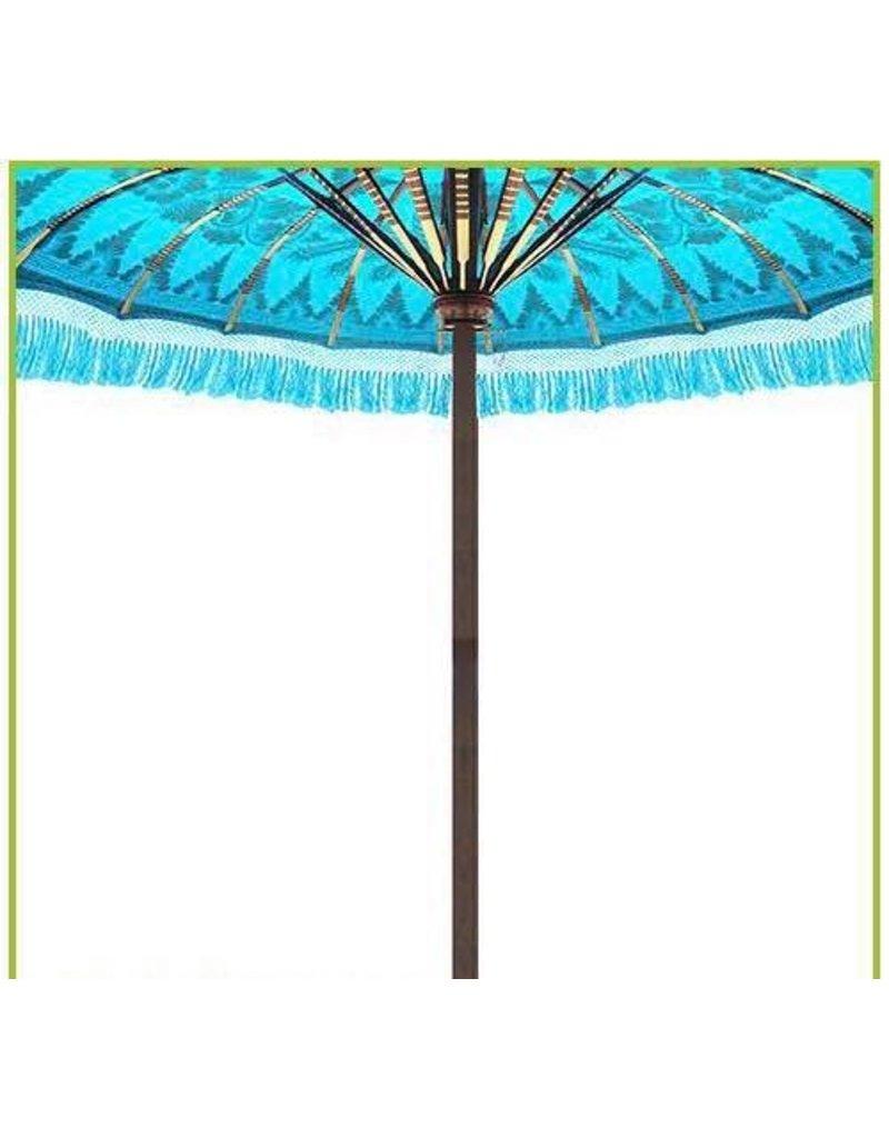Damn parasol groot  turqoise