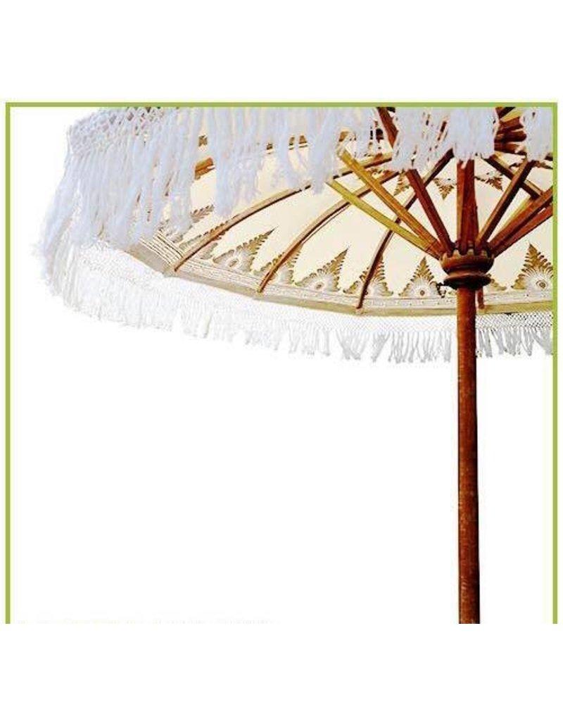 Damn parasol groot  white