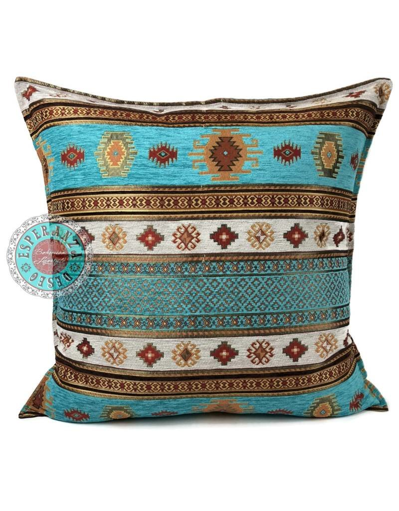 esperanza-deseo Aztec pillow case / cushion cover ± 45x45cm