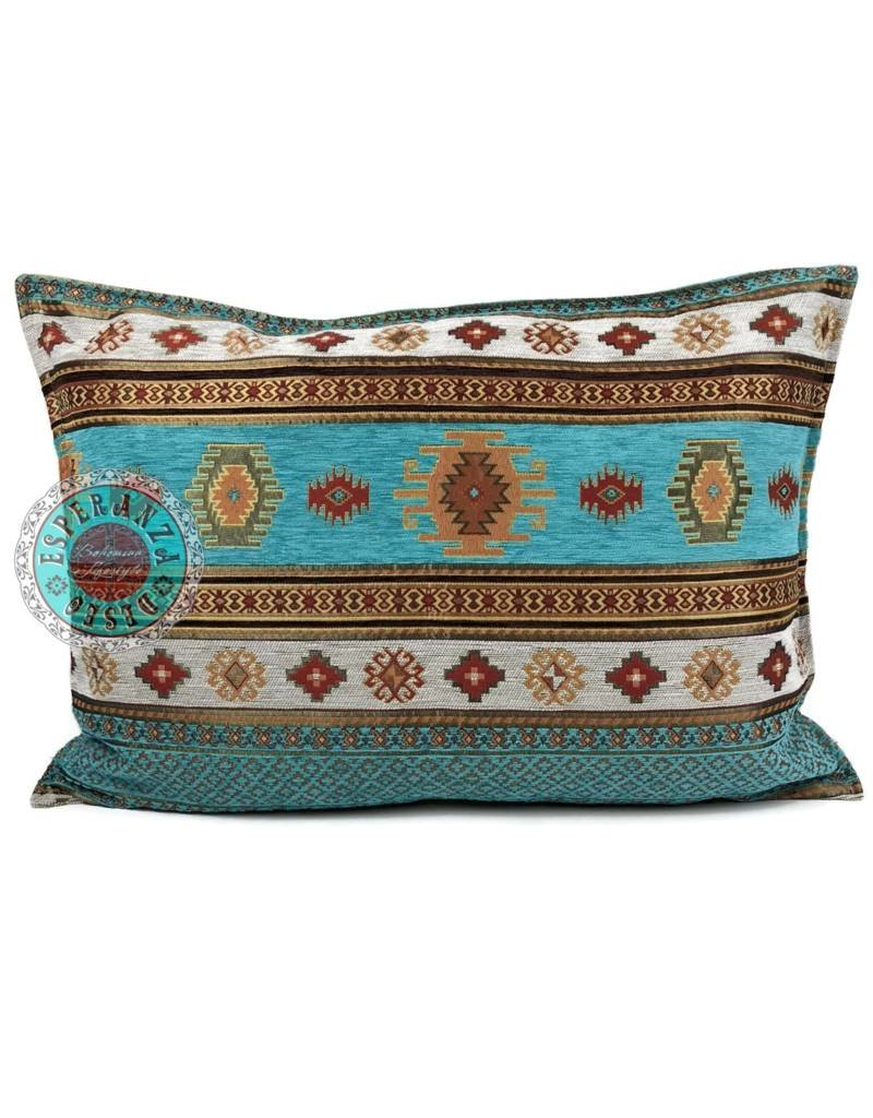 esperanza-deseo Aztec kussenhoes/cushion cover ± 50x70cm