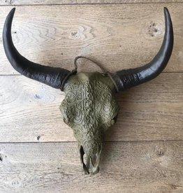 Damn Skull 40 cm white - Copy