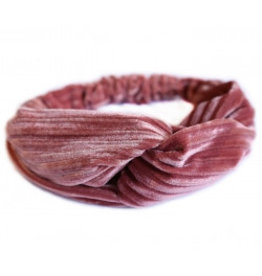 Love Ibiza Velvet hair band rose