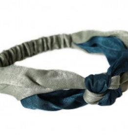 Love Ibiza Haarband zijde indigo