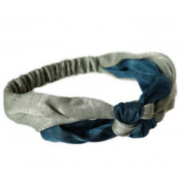 Love Ibiza Hair band silk indigo