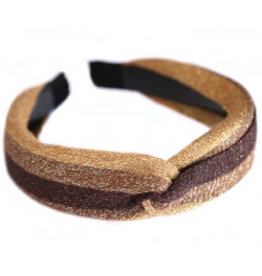 Love Ibiza Hair band silk Goldy