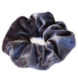 Love Ibiza Velvet scrunchie Rose - Copy