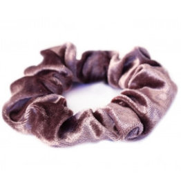 Love Ibiza Velvet scrunchie pale