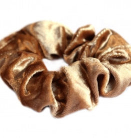 Love Ibiza Velvet scrunchie blond