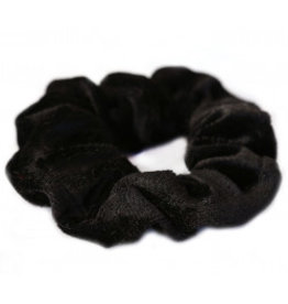 Love Ibiza Velvet scrunchie black