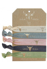 Love Ibiza Love ibiza set of 5 hair bows / bracelets