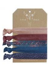 Love Ibiza Baroque set of 5 ambans / hair bows