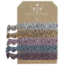 Love Ibiza Zebra set of 5