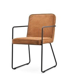 By-Boo Chair leather look black - Copy