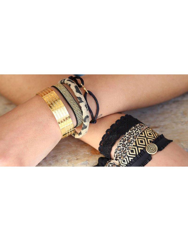 Love Ibiza Karma bracelet black
