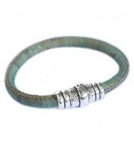 Love Ibiza Karma bracelet green